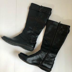 BOC Womens Tall Riding Boot Black New Size 9.5